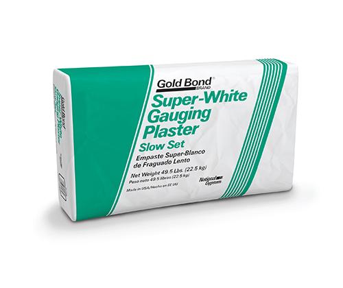 Gold Bond® Super-White Gauging Plaster Slow Set
