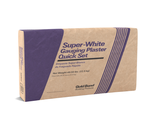 Gold Bond® Super-White Gauging Plaster Quick Set
