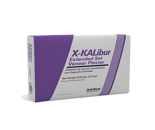Gold Bond® X-KALibur® Extended Set Veneer Plaster