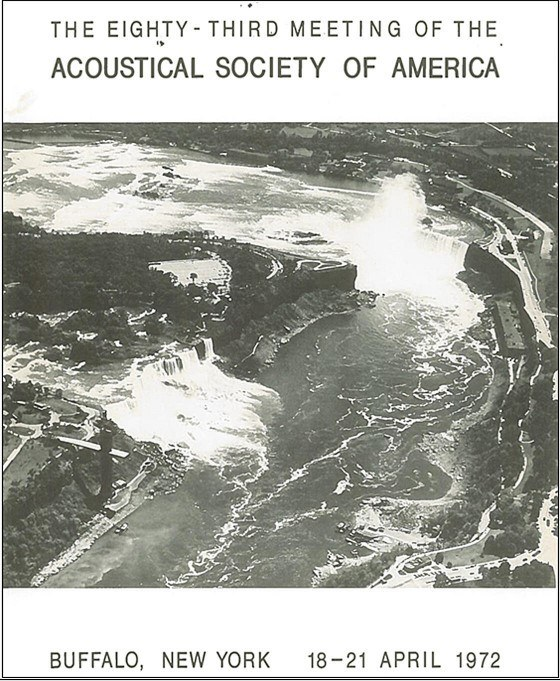 Acoustical Society Cover