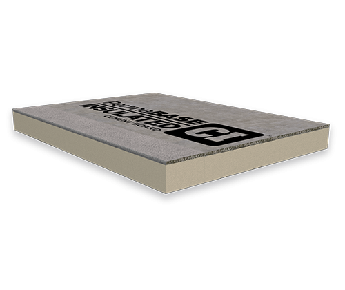 PermaBASE CI™ Insulated Cement Board