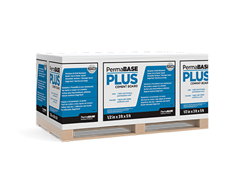 PermaBASE PLUS® Cement Board