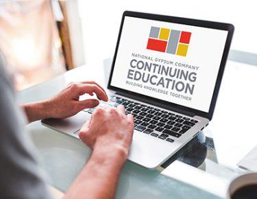 Laptop continuing education logo